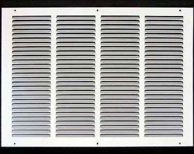 "20w"" x 14h"" RETURN GRILLE - HVAC Dcut Cover - Easy Air FLow - Flat Stamped Face"