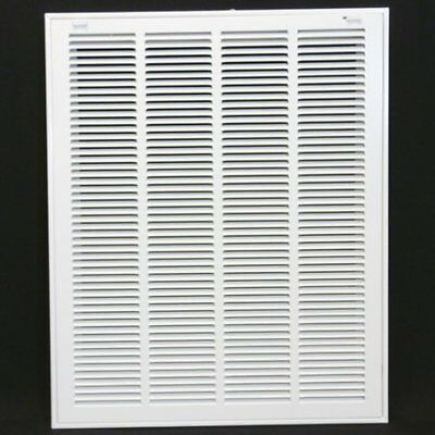 "20w"" x 24h"" RETURN GRILLE - HVAC Dcut Cover - Easy Air FLow - Flat Stamped Face"
