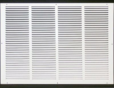 """24w"""" x 16h"""" RETURN GRILLE - HVAC Dcut Cover - Easy Air FLow - Flat Stamped Face"""