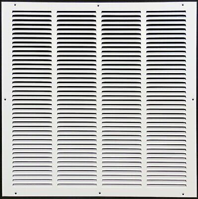 """25w"""" x 30h"""" RETURN GRILLE - HVAC Dcut Cover - Easy Air FLow - Flat Stamped Face"""