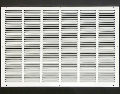 """30w"""" x 24h"""" RETURN GRILLE - HVAC Dcut Cover - Easy Air FLow - Flat Stamped Face"""