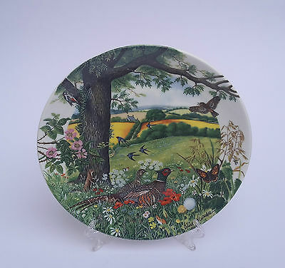 Wedgwood Sammelteller Colin Newman Meadows and Wheatfields Limited Edition
