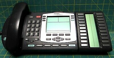 Nortel IP Phone i2004 NTDU92 / Expansion Module NTMN37BA70 Telecom Telephone