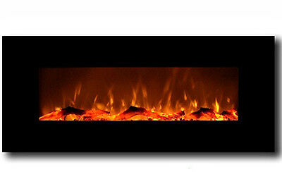 "Wall Mounted LED Electric Fireplace 50"" US"