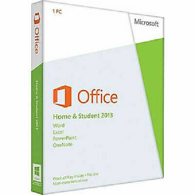 Microsoft Office Home and Student 2013 Product Key (Medialess) - ENGLISH - 08791