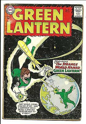 GREEN LANTERN # 24 (1st app & Origin of SHARK, OCT 1963), VG