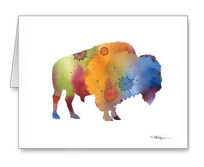 BISON Note Cards With Envelopes