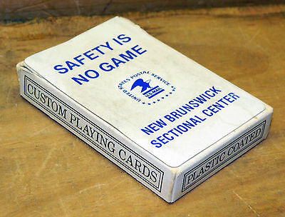 United States Postal Service Safety First Playing Cards New Brunswick NJ USPS