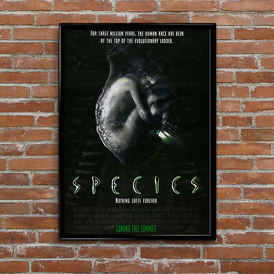 Species SciFi Alien UFO Space Movie Poster High Quality Poster Print Art A1, A2+