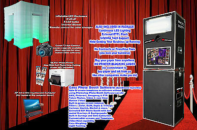 Photo Booth -With LED ENCLOSURE, We Help You Start - ON SALE