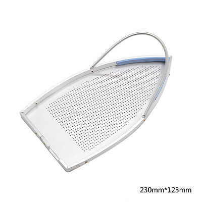 Teflon Aluminum Made Iron Plate Cover Shoe Heat Protection Rest Pad Home Supply