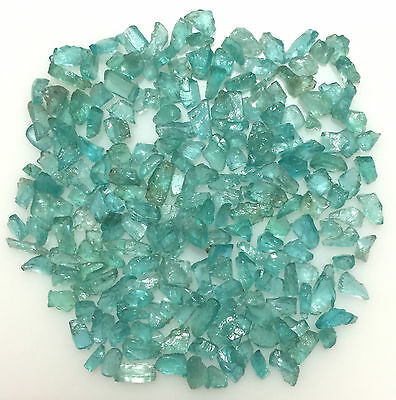 100 Cts Scoop Natural Apatite Green Blue Raw Rough Loose Mineral Gemstones Lot