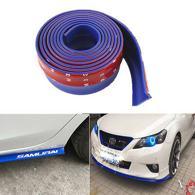 2.5M Car Lip Front Bumper Spoiler Chin Splitter Valance Body Kit Air Wing