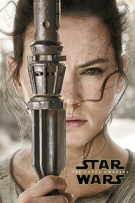 Star Wars: Episode Vii - The Force Awakens - Movie Poster (Rey - Teaser)