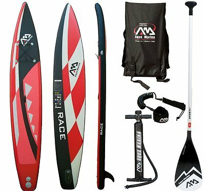 AQUA MARINA RACE SUP inflatable Stand Up Paddle Surfboard Modell 2016