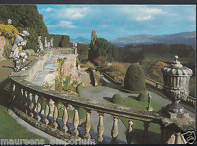Wales Postcard - Powis Castle - View From The Terraces   RR347