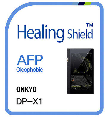 For ONKYO DP X1 Player , Screen Protector AFP Clear Shield Film 2pcs
