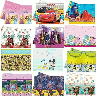 Licensed Character Plastic Tablecovers Birthday Party Tableware Table Cover