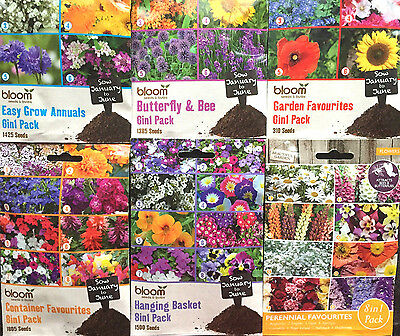 Garden/patio Balcony Flower Seeds Plants Spring,summer,autumn Scented Mixed Pack