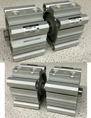 SMC NCDQ2B63-15D Compact Cylinder Lot of 2