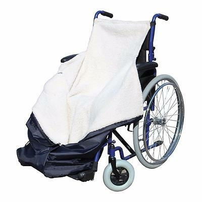 Pharmore Wheelchair Cozy Wrap Waterproof Fleecy Blanket Lined Cosy Leg Cover