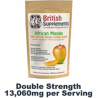 African Mango Strongest 13,600mg Weight Loss Diet Pills Fast Fat Burning UK Made