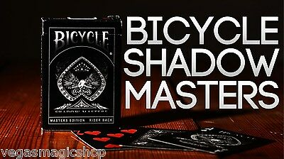 Shadow Masters Deck Bicycle Playing Cards Poker Size USPCC Limited  Ellusionist