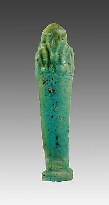 Egypt Late period -30th dynasty to ptolemaic period shabti