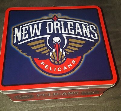 New Orleans Pelicans Logo Hard Lunch Box 15 50 Picclick