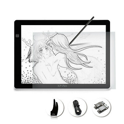 XP-Pen A4 Size LED Lightbox Tracing Light Pad USB cable Drawing Design Tablet