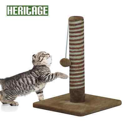 Heritage Cat Kitten Scratching Pole Post Tree Scratcher Scratch Sisal Tall 80506