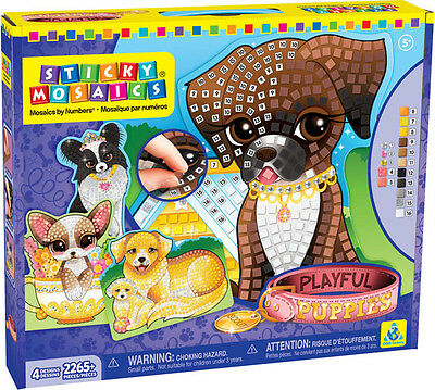 Orb Factory 73046 - Sticky Mosaics - Playful Puppies
