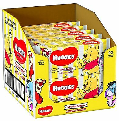 Huggies Disney Special Edition Baby Wipes 56 Pieces - Pack of 10 (560 Wipes)