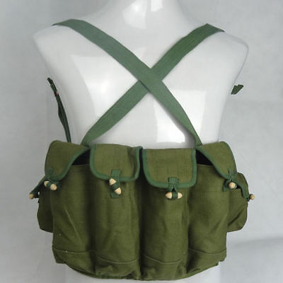Surplus Chinese Army Type 81 Ak Chest Rig Ammo Military Pouch