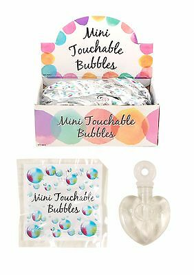 Wedding Favor MINI Touchable Magic Bubbles Party  Bag Favour Table Decoration