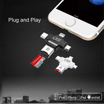 Micro SDHC SD TF USB Card iDrive iReader SD memory card reader for iOS iPhones