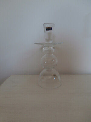 Waterford Crystal Marquis Vintage Garden 9.5 Inch Lead Crystal Candlestick New