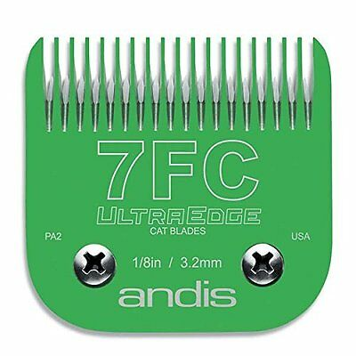 Andis 65820 # 7FC EGT UltraEdge Detachable Green Clipper Blade for Cats