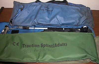 Faretec Adult Traction Splint Military / First Aid Extrication System EMS EMT