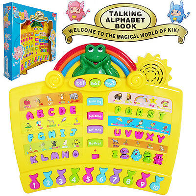 Educational Learning System Kid Electronic Talking Book Develop Baby Musical Toy