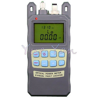 All in Optical Power Meter -70~+10dBm 1mw 5km Cable Tester Visual Fault Locator