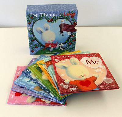 The Things I Love Collection 8 Book Set Slipcase By Trace Moroney New Hardcover