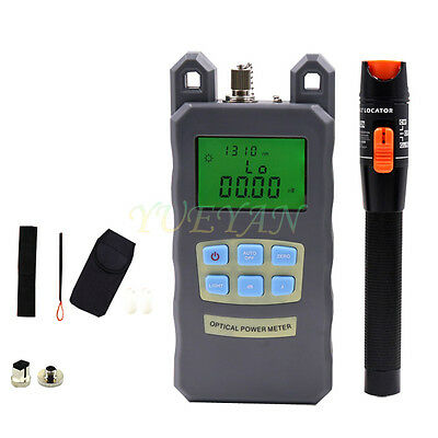 Fiber Optical Power Meter 10mv Visual Fault Locator Fiber Optic Cable Tester S10