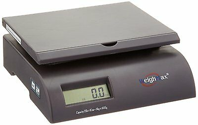 New Postal Shipping Scale with Battery / AC Adapter Max Weight Capacity 75 lbs!
