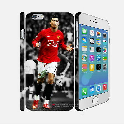 08 Cristiano Ronaldo - Apple iPhone 4 5 6 Hardshell Back Cover Case