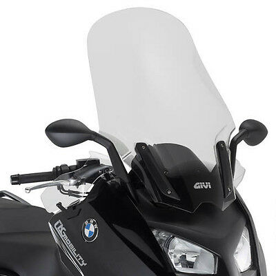 Windshield D5105St Bmw C600 Sport 12 With Guards And Bracket Givi