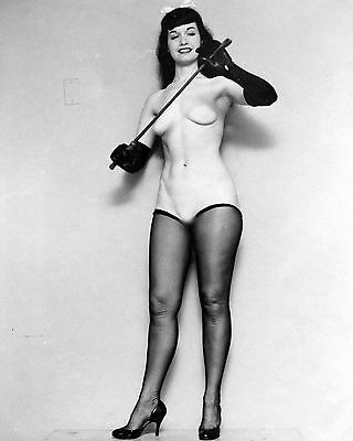Bettie Page 60 (Playboy Pinup) Photo Print