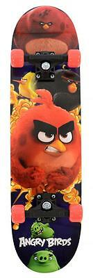 Angry Birds Movie Skateboard Double Kicktail Maple Deck and printed Griptape