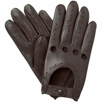 Real Lambskin Leather Driving Fashion Dress Gloves Soft & Top Quality
