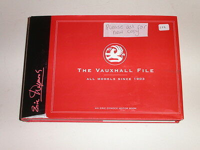Vauxhall File Book by Eric Dymock, New
